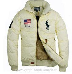 Polo officiel - doudoune Ralph Lauren drapeau usa big pony usa new blance Doudoune  Ralph Lauren 716df2ece69