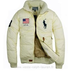 Polo officiel - doudoune Ralph Lauren drapeau usa big pony usa new blance Doudoune Ralph Lauren