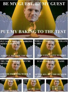 Lol haha funny / Hunger Games Humor / Beauty And The Best / Disney / Peeta Mellark / pics