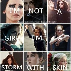 girl, divergent, and harry potter image Images Harry Potter, Harry Potter Jokes, Girl Power Quotes, Girl Quotes, Swag Quotes, Power Girl, Book Memes, Book Quotes, True Quotes