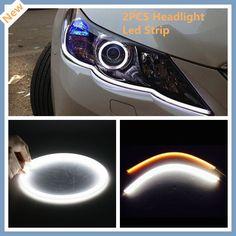 $14.59 (Buy here: https://alitems.com/g/1e8d114494ebda23ff8b16525dc3e8/?i=5&ulp=https%3A%2F%2Fwww.aliexpress.com%2Fitem%2FDual-Color-2x-60cm-12V-White-Amber-DRL-LED-Strip-Tube-Switchback-Headlight-Light-for-Audi%2F32392851475.html ) Dual Color 2x 60cm 12V White/Amber DRL LED Strip Tube Switchback Headlight Light for Audi style for just $14.59