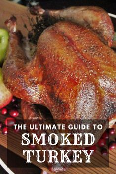 This Smoked Turkey is the perfect turkey to serve on Thanksgiving or other special occasions. If you haven't had the opportunity to try the tender delicacy that is the perfect smoked turkey, now is the time to try it out. It take the ol' turkey to the next level.