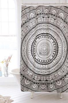 Magical Thinking Meda Medallion Shower Curtain