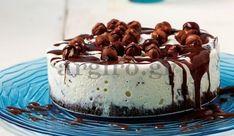 Τούρτα παγωτό µε μωσαϊκό! Greek Recipes, Tiramisu, Pudding, Ethnic Recipes, Desserts, Food, Pizza, Random, Kitchen
