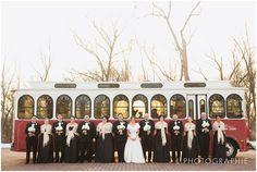 A trolley is fun transportation for the wedding party! Wedding Day Tips, Wedding Pictures, Diy Wedding, Wedding Things, Church Wedding Photography, Wedding Timeline, Wedding Photo Inspiration, Chicago Wedding, Wedding Details