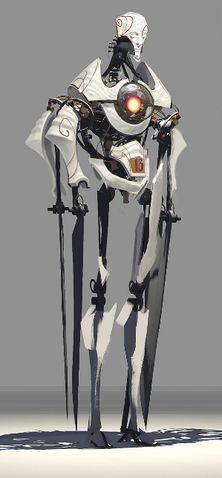 Dishonored 2 Concept Art - Clockwork Soldier
