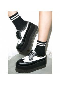 #DollsKill #TUK #wingTip #rockaBiLLy #punK #creePeR #pLatForm @tukfootwear