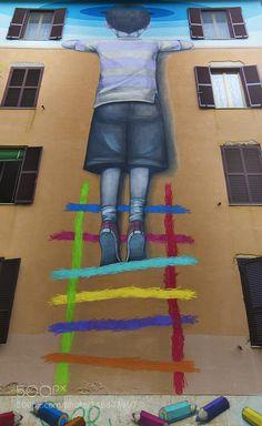 Street Art - Tor Marancia - Roma by Adelaide-Simeone