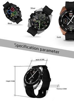 Silver No.1 G6 Bluetooth 4.0 Smart Watch MTK2502 Heart Rate Monitor Sport Pedometer Tracker For iPhone IOS and Android Phones Product Description A beautiful smart watch all in one, brought to your wrist with a stylish design. Built-in heart rate monitor and lots of health and fitness tracking features in one compact device.
