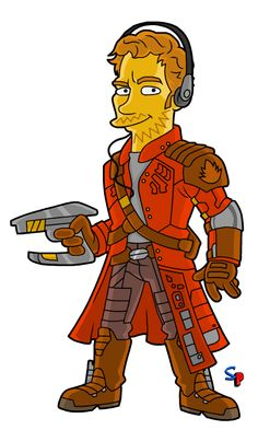 Springfield Punx: Guardians of the Galaxy; Star-Lord