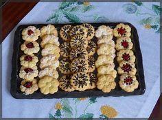 Čajové sušenky do lisu Christmas Cookies, Waffles, Cereal, Blog, Cooking, Breakfast, Sweet, Advent, Google