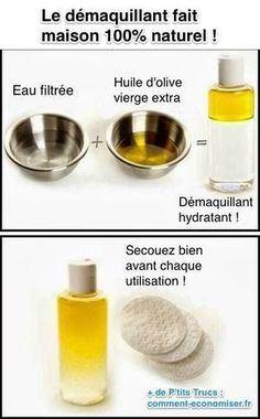 The natural homemade makeup remover that your skin will love. - Are you looking for a natural and easy-to-do homemade make-up remover? Discover the trick here: www - Beauty Tips For Face, Health And Beauty Tips, Diy Beauty, Beauty Skin, Beauty Hacks, Beauty Ideas, Face Tips, Beauty Secrets, Health Tips