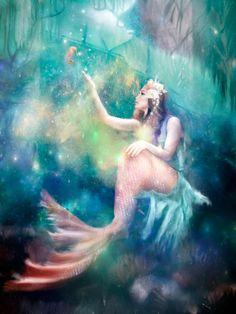 Lighted Mermaid Cove Lagoon Sunken Ship Seahorse Light Beach Home Decor Sign NEW Mermaid Sign, Mermaid Cove, Mermaid Island, Goddess Of The Sea, Ancient Goddesses, Flower Lights, Canvas Signs, Magical Creatures, Pretty Art