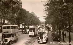 Berlin 1928 Blick auf die Potsdamerstrasse in Richtung Nordost