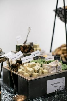 Twelve Baskets Catering // Signature Cheese Display // Laura Marchbanks Photography