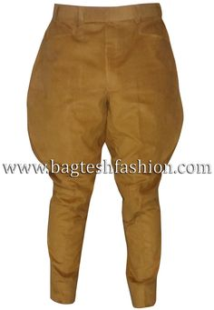This inner knee patches camel brown breeches or baggy fit jodhpurs is made from high quality small wale corduroy fabric. Riding Pants, Riding Breeches, Mens Party Wear, Hunting Pants, Nehru Jackets, Men Trousers, Salwar Kameez Online, Tuxedo For Men, Sherwani