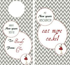 FREE New Years Eve Printables With Modern Chevron! — Celebrations at Home