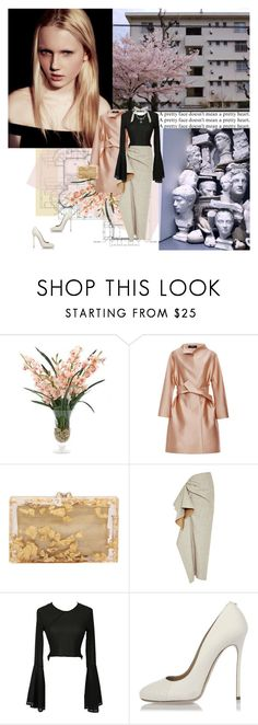 """""""1073. Emily Ruhl"""" by dreamingofamelia ❤ liked on Polyvore featuring INC International Concepts, Paule Ka, Charlotte Olympia, Rosie Assoulin, Dsquared2 and Lanvin"""