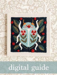 Punch Needle Kits, Punch Needle Patterns, Cross Stitch Patterns, Monks Cloth, Latch Hook Rugs, Star Diy, Rug Hooking, Craft Kits, Lana