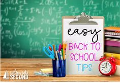 Easy Back to School