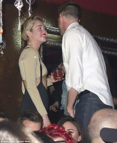Miley Cyrus twerks on male party goer in front of 'new boyf' Kellan Lutz Kellan Lutz, Miley Cyrus, Couple Photos, Music, Youtube, Party, Couple Shots, Musica, Musik