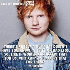 Ed Sheeran speaks the truth