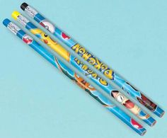 Package includes (12) Pokemon Pencils, 4 each of 3 different styles. This is an…