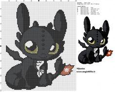 Schema punto croce chibi Sdentato (Dragon Trainer) 100x120 6 colori.jpg