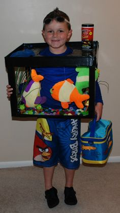 Homemade Halloween Costumes for kids | Maria was our Under The Sea sweetheart! Her costume is made from a ...