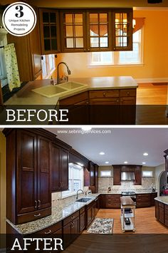 Before & After: 3 Unique Kitchen Remodeling Projects New Kitchen, Kitchen Ideas, Kitchen Decor, Kitchen Trends, Kitchen Pantry, Kitchen Designs, Kitchen Living, Home Remodeling Contractors, Home Upgrades