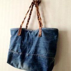 DIY- Mon sac en jean                                                                                                                                                                                 Plus