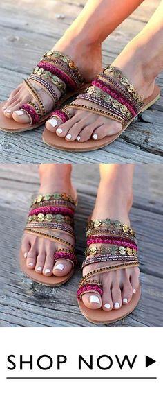 c3c5f109bcb9 Women Shoes Comfortable Rome Beach Flat Sandals