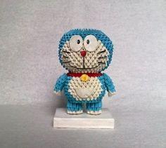 3D Origami - Doraemon Anime