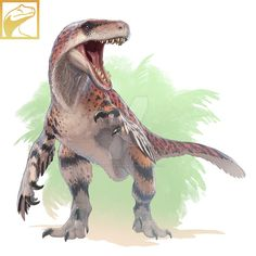 Basically made some fan art of the Oxford University Utahraptor statue in London. I only just realized it's just the Walking with Dinosaurs Utahraptor, but red. Two birds with one stone I guess. Dinosaur Activities, Dinosaur Art, Dinosaur Drawing, Dinosaur Crafts, Prehistoric Wildlife, Prehistoric Creatures, Walking With Dinosaurs, Reptiles, Creature Drawings