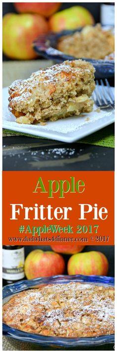 Apple Fritter Pie