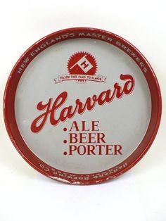 Harvard Ale Beer Porter serving tray
