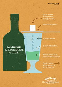 Absinthe – The Authentic Serve Something to look out for at our local food and drink festival this weekend. Christmas Drinks Alcohol, Holiday Cocktails, Hypnotic Drinks, Brandy Slush, Bandeja Bar, Coconut Rum Drinks, Artemisia Absinthium, Cocktail Mix, Green Fairy