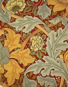 19C American Women: In 1861, William Morris founded the decorative arts firm of Morris, Marshall, Faulkner & Co to undertake carving, stained glass, metal-work, paper-hangings, chintzes (printed fabrics), & carpets.
