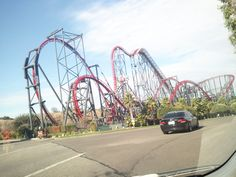 Favorite Roller coaster of all time. X2