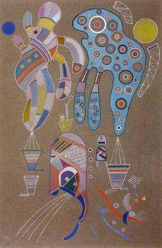Kandinsky - Untitled (Sans Titre), 1941