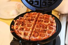 4 total servings of Cauliflower Breakfast Waffle.  Per half waffle, 195 Calories, 13.8g Fats, 2.5g Net Carbs, and 14.8g Protein.