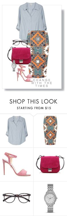 """""""Sans titre #85"""" by petzi ❤ liked on Polyvore featuring Joie, Dorothy Perkins, Paul Andrew, Proenza Schouler and FOSSIL"""