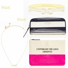 the 75% off kate spade SECRET SALE! everything pictured here under $30. perfect gifts!