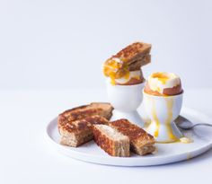 Grilled Cheese Recipes - Breakfast Grilled Cheese - Delish.com