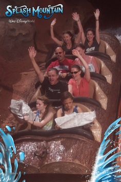 Me & my best friend on Splash Mountain at Disney World... There's always time for the paper. :)