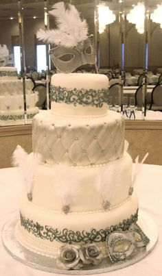 mystique wedding cake. It would be really pretty in a different color