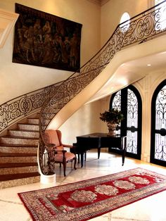 Mediterranean Entry Design, Pictures, Remodel, Decor and Ideas - page 12
