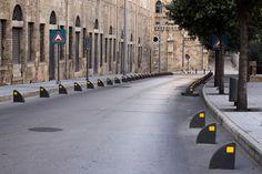 LEBANON, BEIRUT, NO PARKING