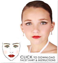 Recital Make-up tutorials