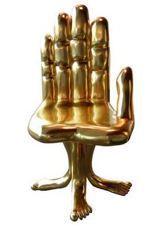 Google Image Result for http://furnime.com/wp-content/uploads//2011/11/Gold-Hand-and-Foot-Chair-2.jpg